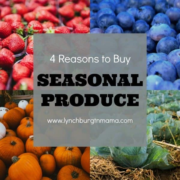 4 Reasons to Buy Seasonal Produce