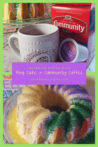 Celebrate Easter with King Cake + Community Coffee