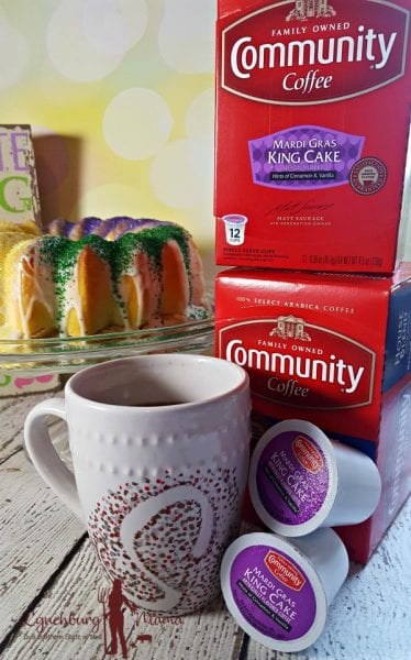 Community Coffee Easter King Cake Coffee