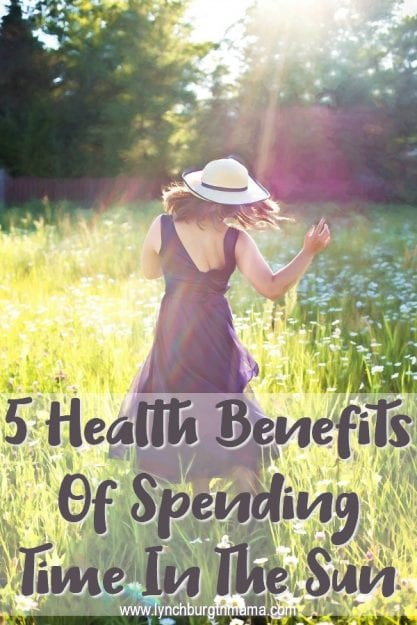 5 Health Benefits of Spending Time In The Sun