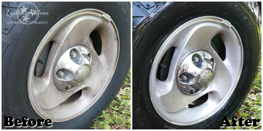Mean Green TIres Before After