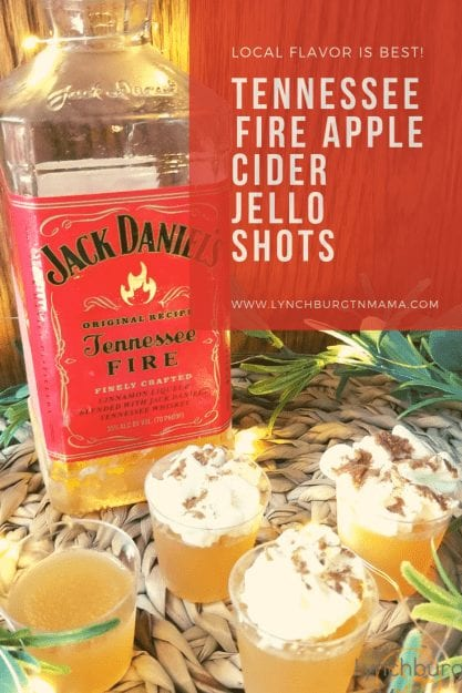 Tennessee Fire Apple Cider Jello Shots are exactly what ever Fall event needs this year!