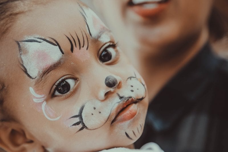 Trick-Or-Treating Safety Tips - Use Non Toxic Face Paint