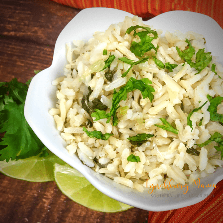 Instant Pot Cilantro-Lime Rice