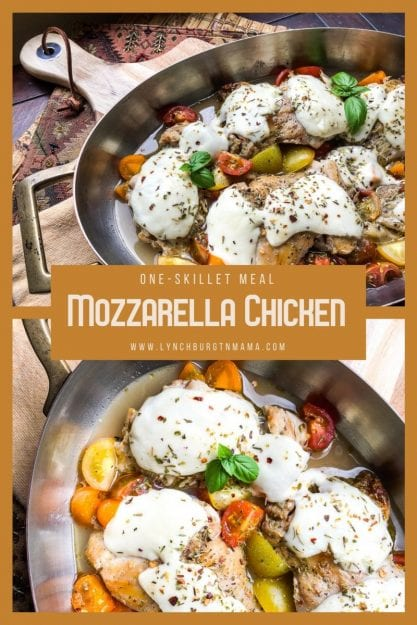 In less than an hour, you can put One-Skillet Mozzarella Chicken Thighs on your table! And the best part - your entire family will love it!