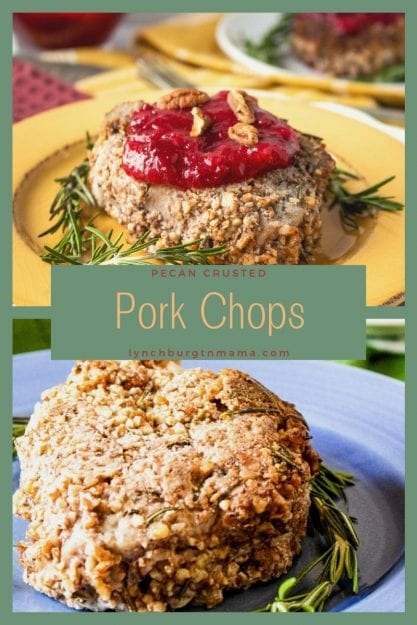 Pecan Crusted Pork Chops are a unique dish to add to your table. Plum Sauce will take these to the next level!