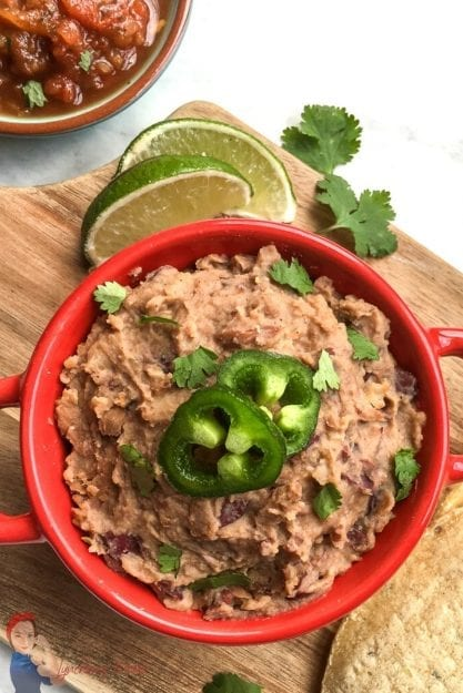 Easy Refried Beans for a Tasty Mexican Side Dish!