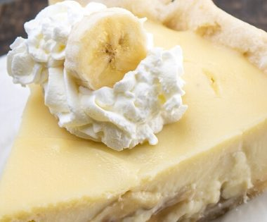 Lynchburg Mama's Southern Banana Cream Pie