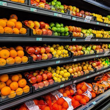 Affordable Grocery Shopping Produce