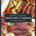 Instant Pot Corned Beef & Cabbage Pin