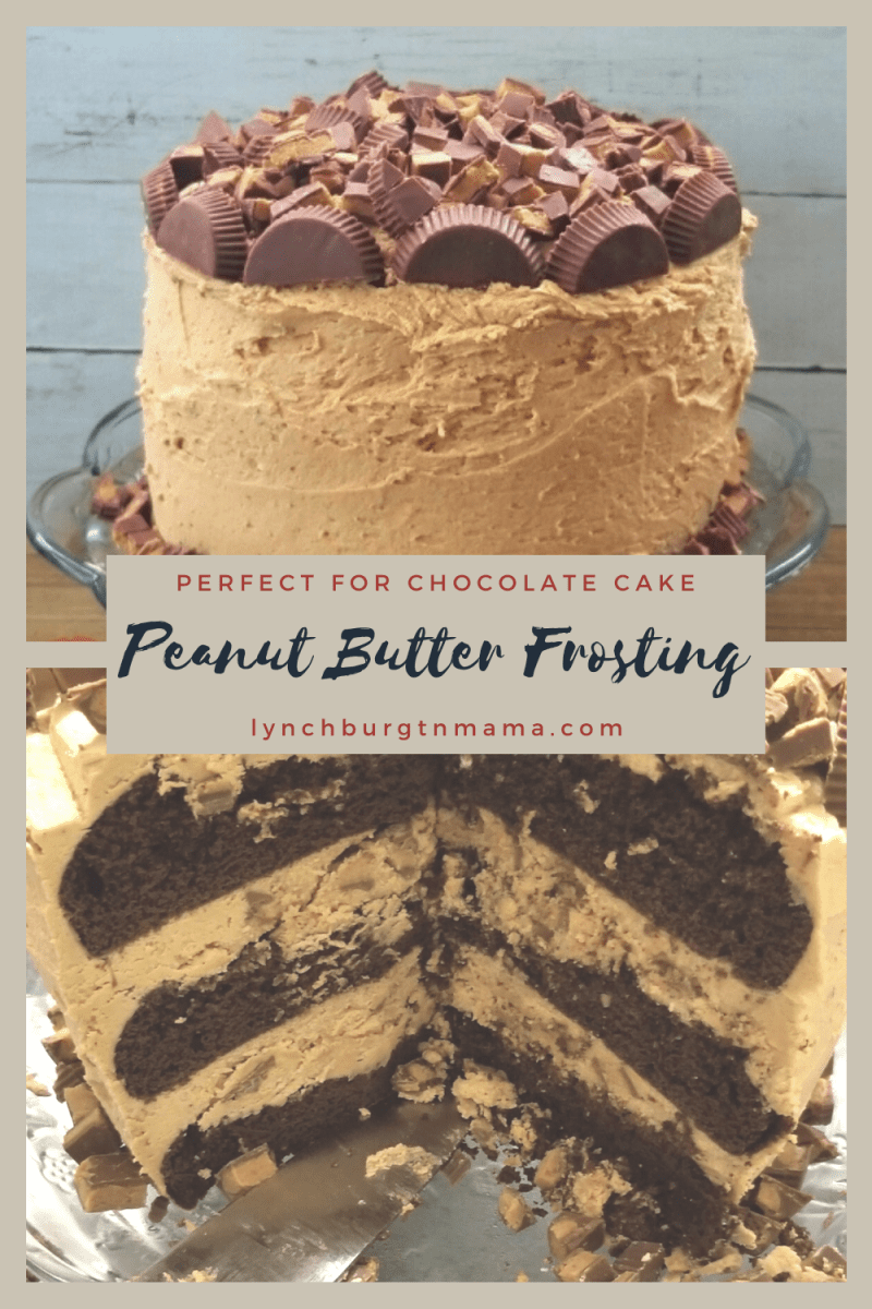 Ultimate Peanut Butter Frosting
