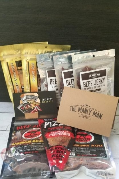 The Manly Man Company Gift Box - The Best Jerky Gift Box