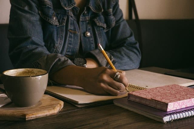 Creative writing is one of many fun hobbies to try if you're stuck at home