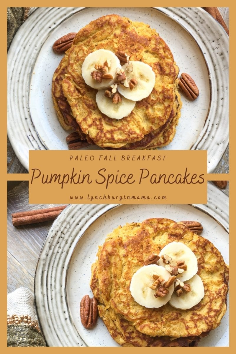 Enjoy a warm and flavorful Fall Breakfast favorite - Pumpkin Spice Pancakes!
