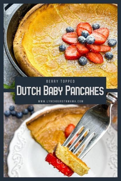 Berry Topped Dutch Baby Pancakes