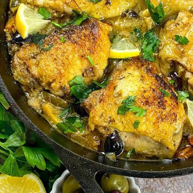Cast Iron Chicken Provencal