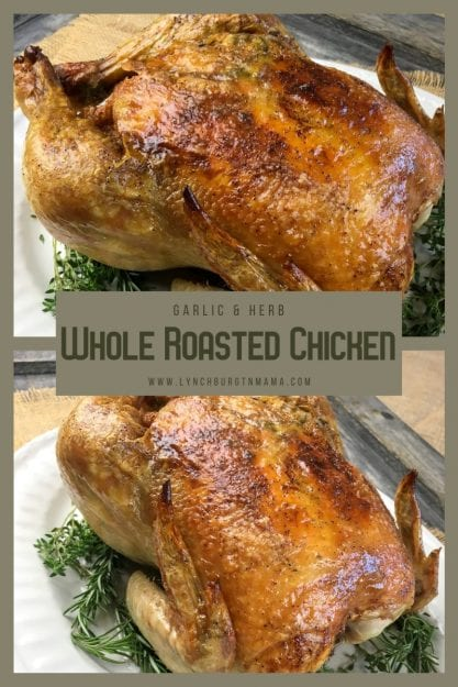 This flavorful Garlic-Herb Whole Roasted Chicken recipe is a true home run. It's the perfect choice for a nice Sunday dinner with friends and family. Plus, you can use the leftovers to make a delicious homemade chicken stock or shred the remaining meat to use in a quick soup or salad recipe the next day.