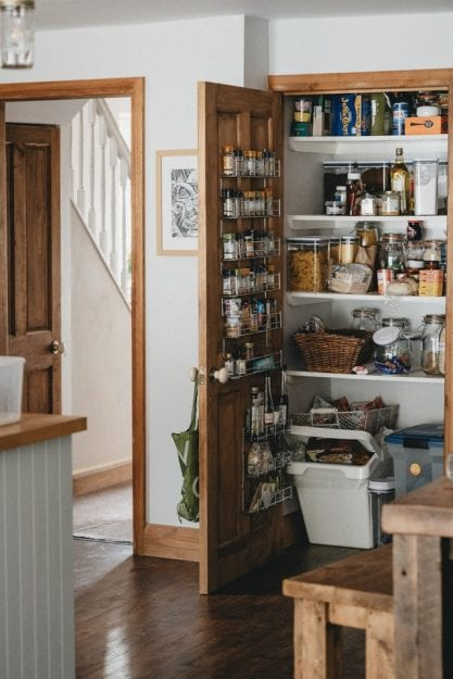 Being organized can save money in your pantry