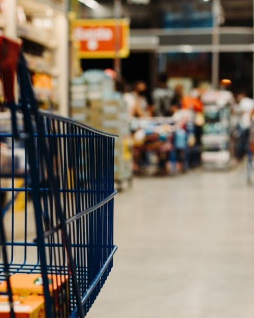 Grocery Shopping Cart - planning your trip can help your food budget