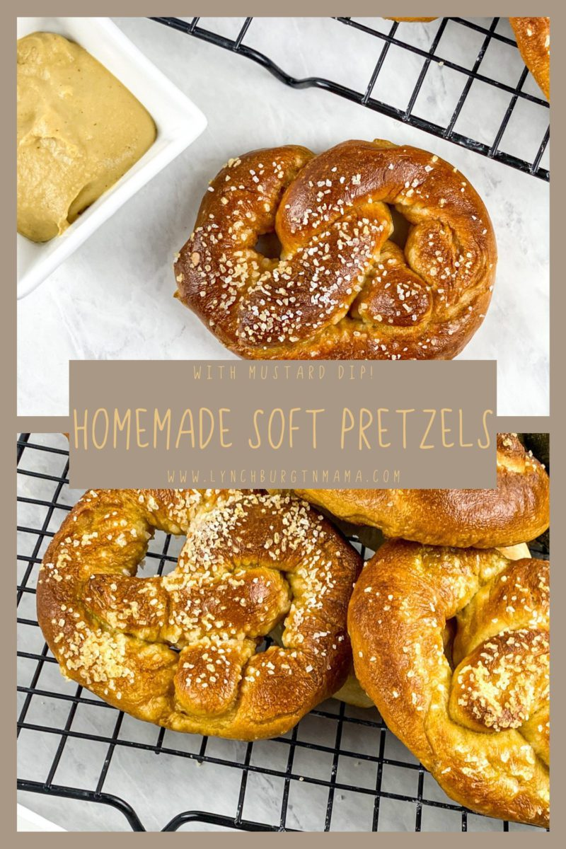 These buttery Homemade Soft Pretzels are quick to make and easy to customize with your favorite flavors. Make them savory with a side of spicy mustard or sweet with cinnamon sugar!