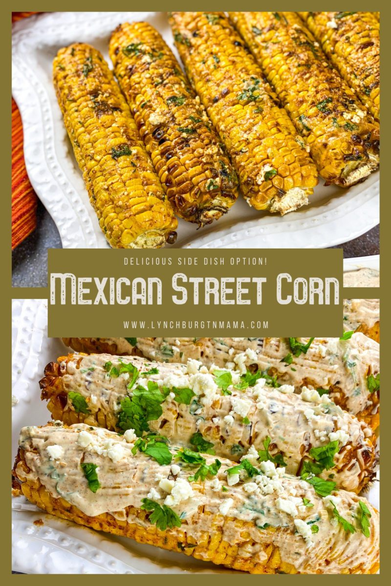 Broiled Mexican Street Corn is an essential for summer BBQs and picnics. Full of flavor straight from the grill or oven , make these to accompany any spring or summer meal!