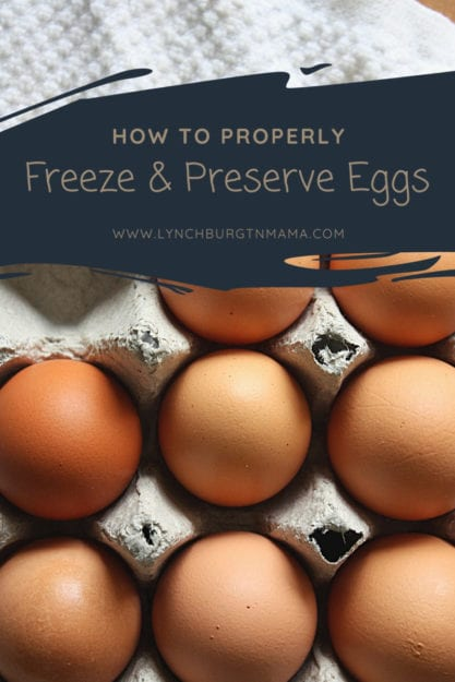 Learn how to freeze and preserve eggs - the right way! Discover how you can buy extra eggs the next time there is a good sale at the grocery store or when your hens are laying well. You'll be surprised at how hand these frozen/preserved eggs will come in handy!
