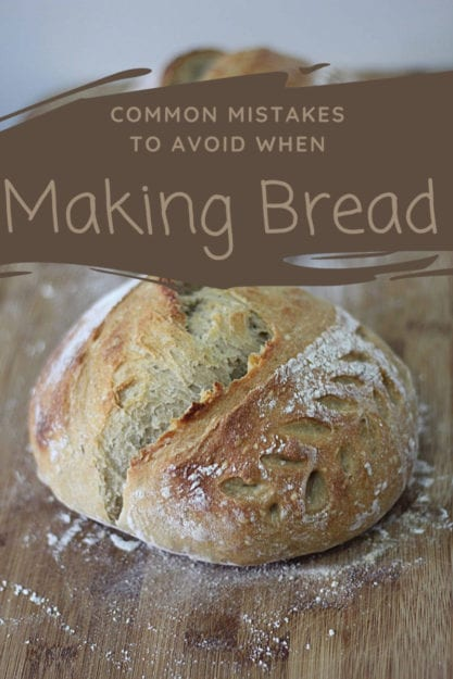 Making bread is a great way to avoid overly-processed bread and save money. But if it's not turning out how you'd like, here are some common mistakes you should try to avoid.