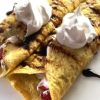 Flourless Crepes Featured
