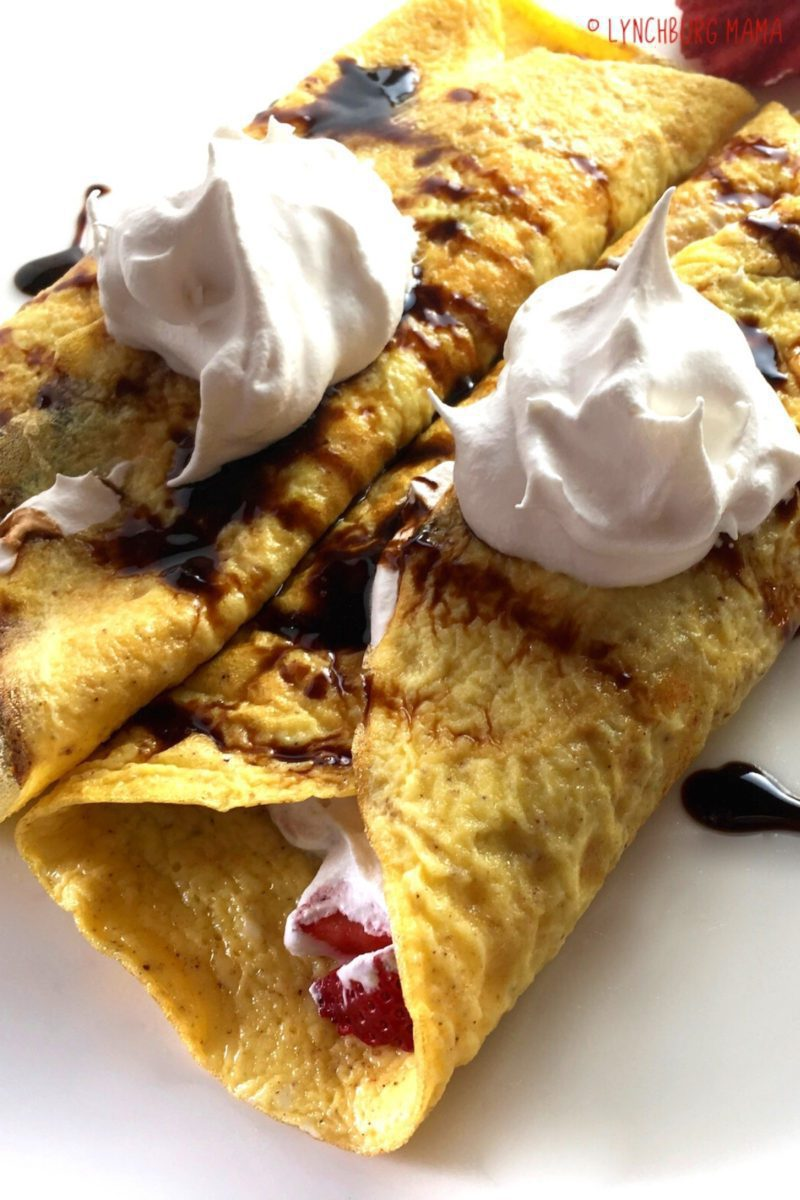 Flourless Crepes are a low-carb, gluten-free way to enjoy with your favorite sweet or savory fillings. Enjoy a tasty twist on traditional crepes!