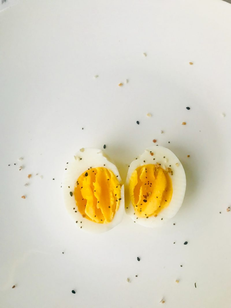 Hard Boiled Eggs are one of my favorite snacks to make! Plus, they are versatile to be made ahead of time and used throughout a few days for lunch and dinne