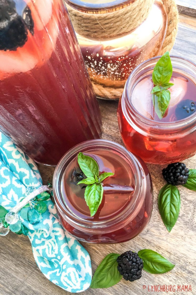 Blackberry Iced Tea is a tasty, mouth-watering drink that is easy to make in your Instant Pot®! Using your favorite tea blend, this recipe is perfect for summer parties!