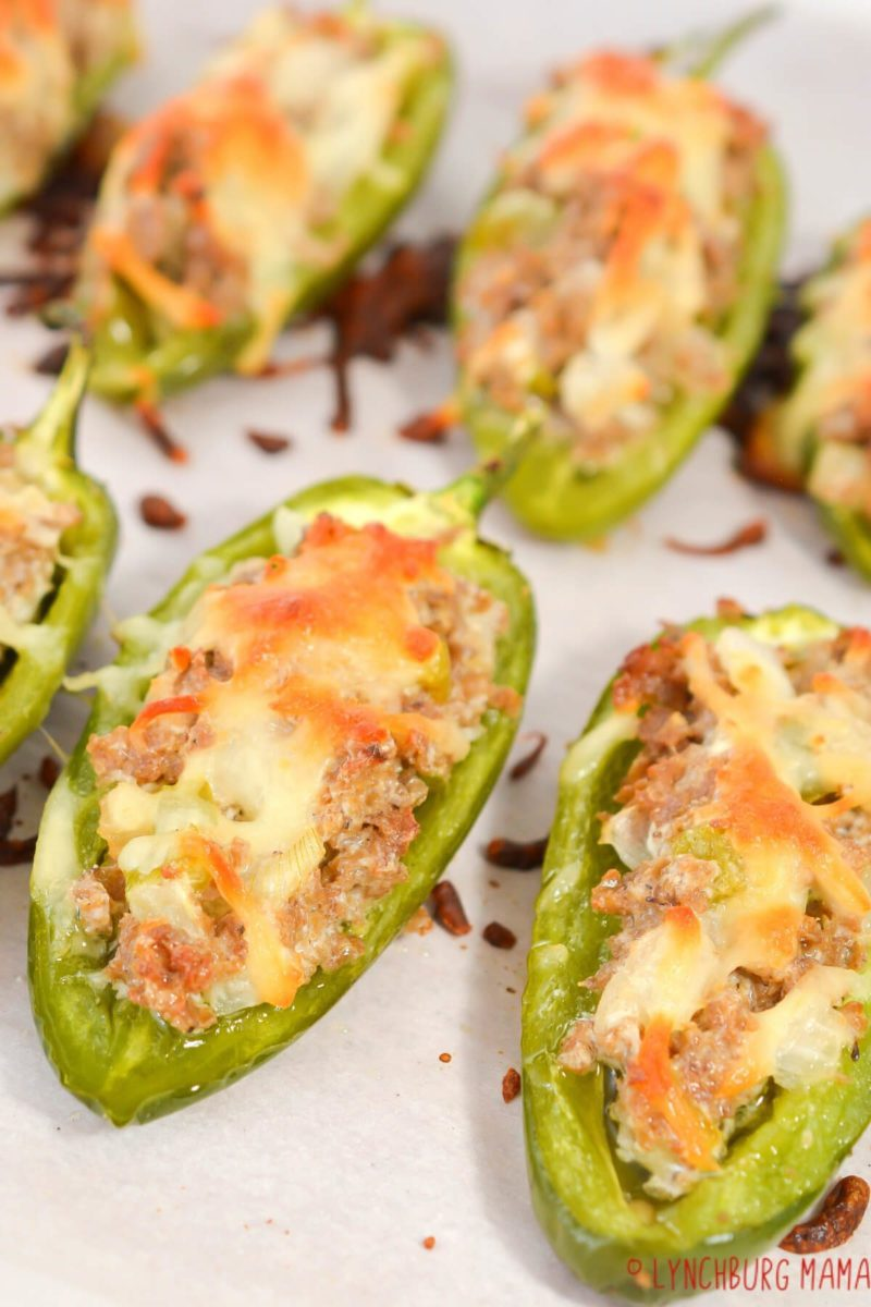 Keto Cheesesteak Stuffed Jalapenos bring two flavors together for an enjoyable low carb appetizer or snack. They are perfect for meal preppers and parties!