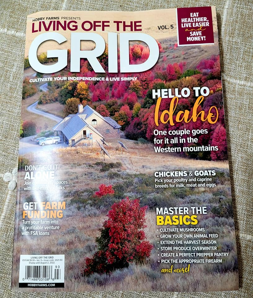August - Issue 5 - Hobby Farms - Living Off the Grid Magazine - Prepper Pantries Article