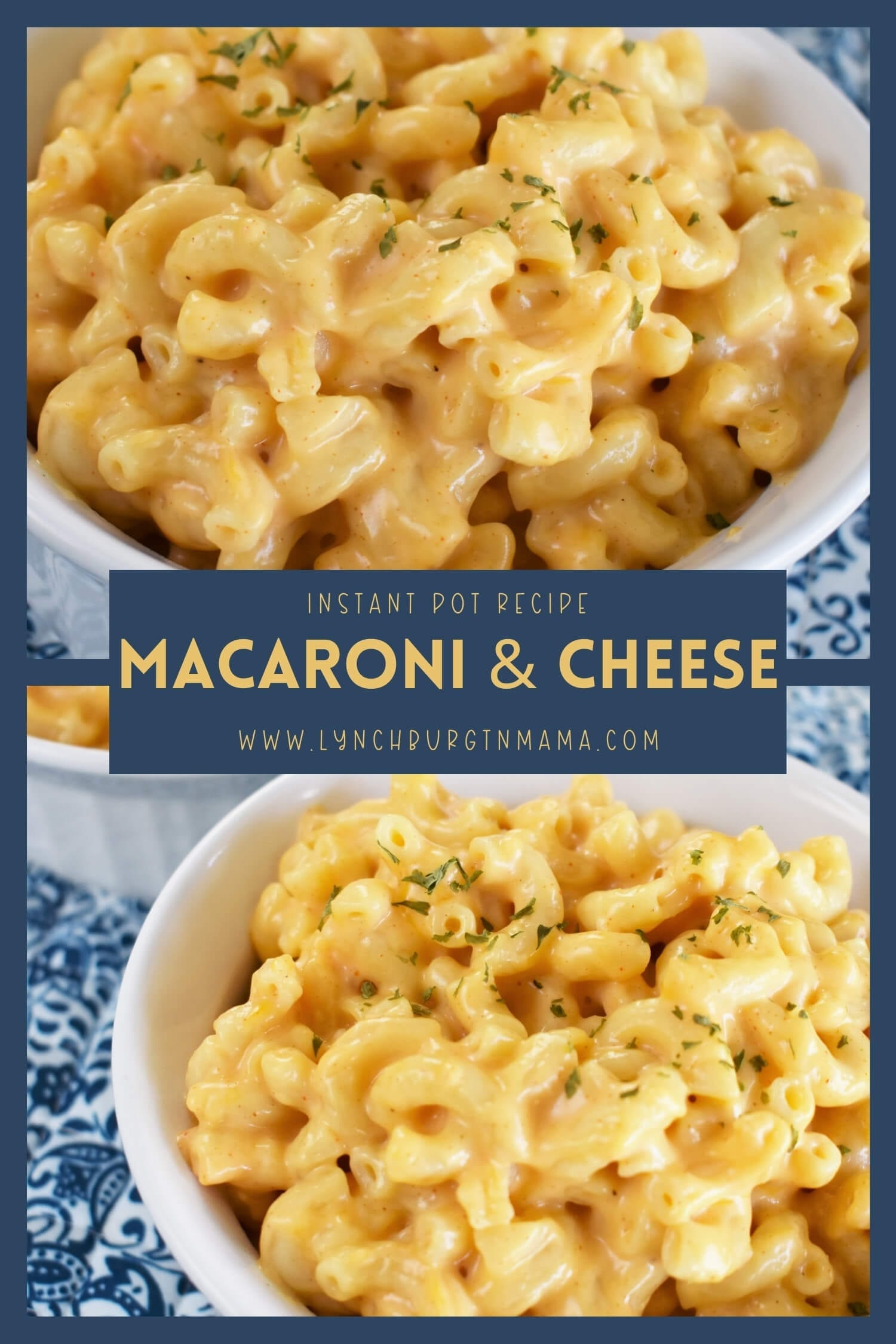 Instant Pot Macaroni and Cheese is a comfort food game-changer! In about 20 minutes, you can have this dish on the table and your family full of smiles!