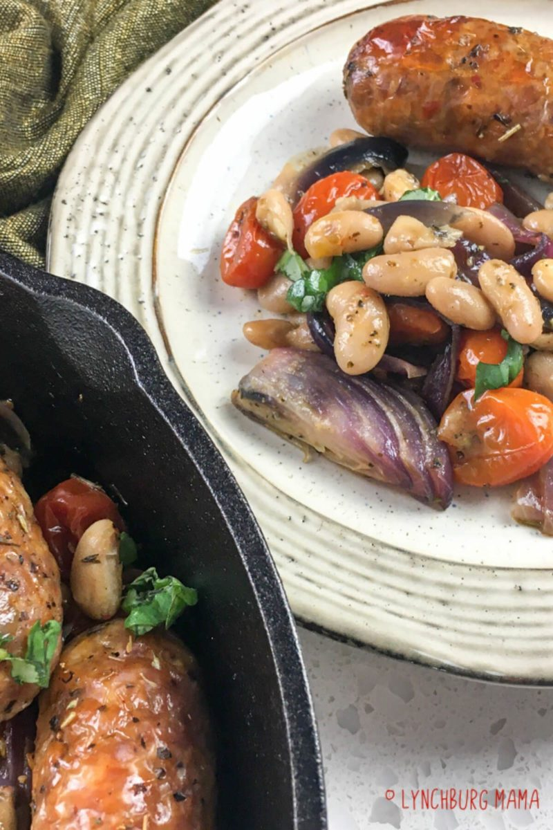Italian Sausages and White Beans