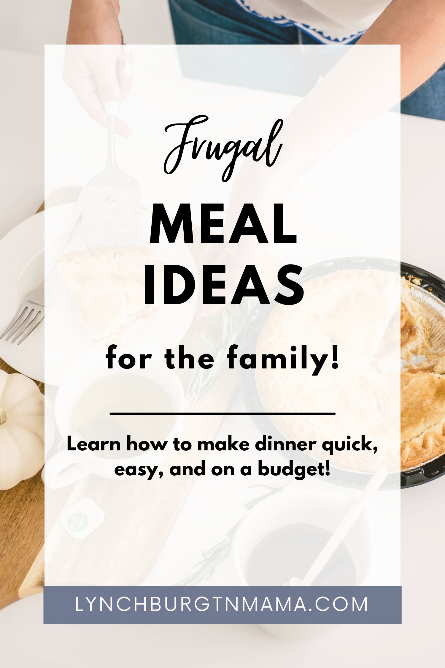 Frugal meal ideas are always important to have on hand. Do you have a family to feed with a smaller food budget? It is entirely possible to feed your family filling, healthy, and affordable meals no matter what your budget is. Here are some frugal meal ideas for your family to try!