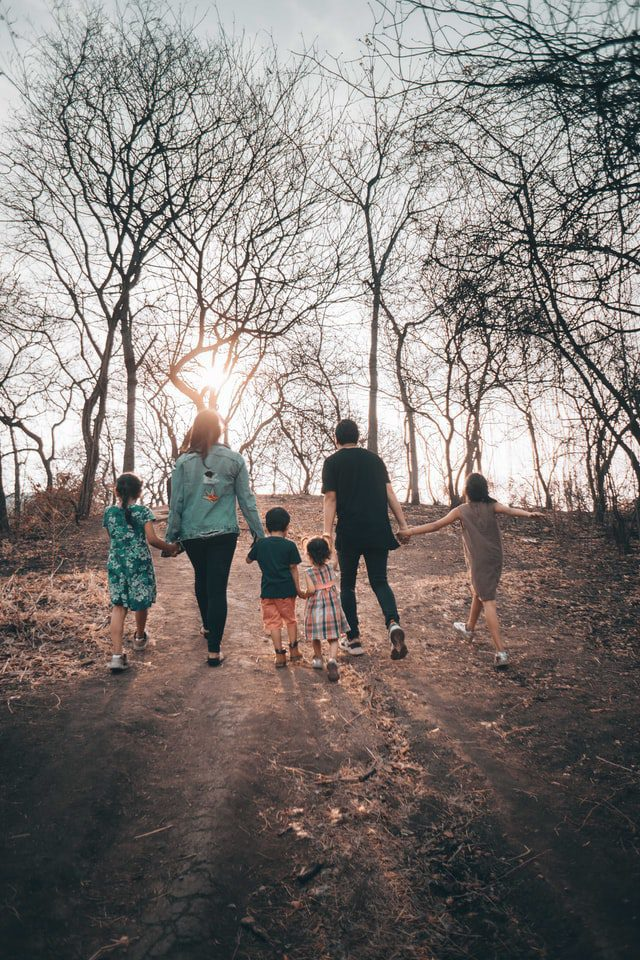 Caring families help create safe minded children